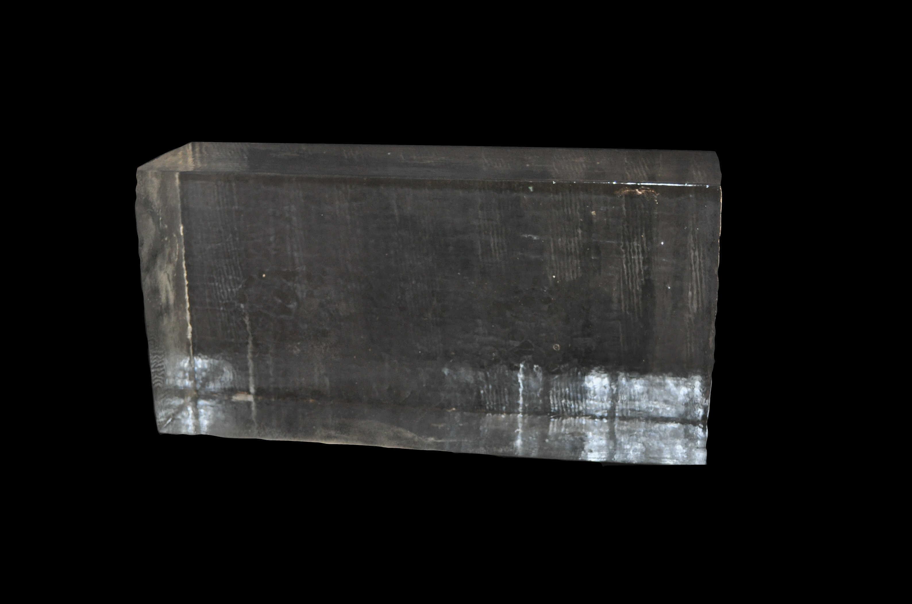 Bloc De Glace à Sculpter Transparent