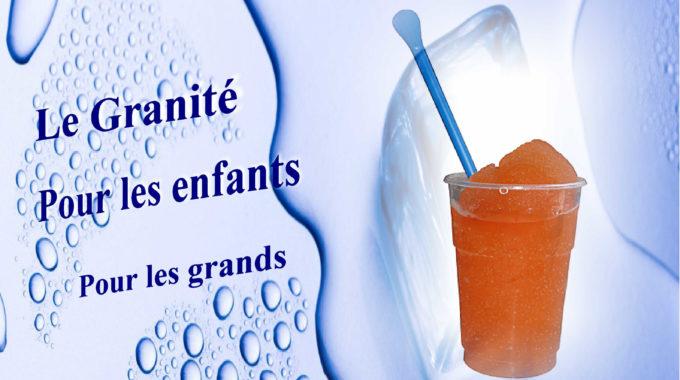 Granité Cocktail Sans Alcool