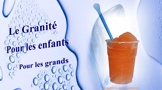 Granité Cocktail Sans Alcool