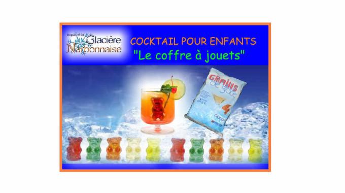 COCKTAIL «LE COFFRE A JOUETS»